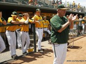 Athletics – Baseball vs Texas – Baylor Ballpark – Senior Day - 04/28/2013