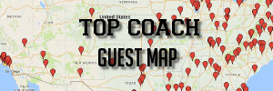 Top Coach Guest Map