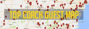 Top Coach Guest Map